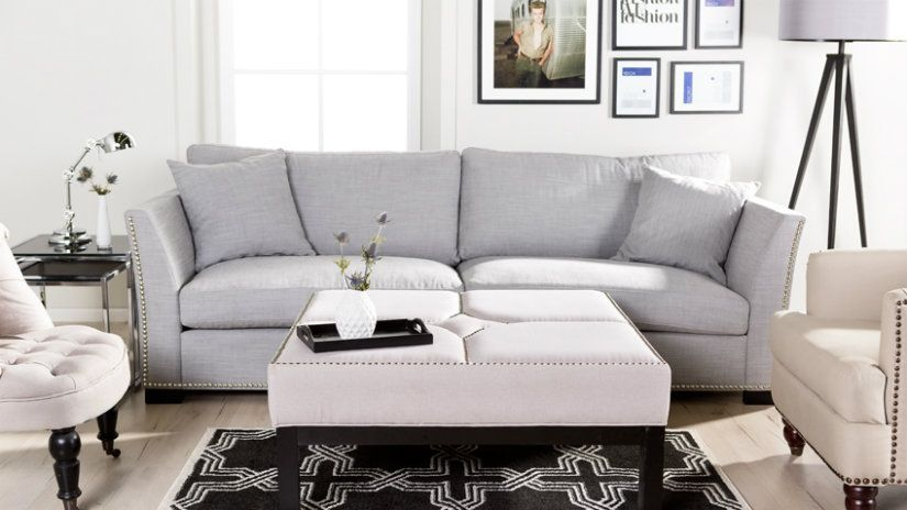 Soggiorno bianco e grigio: ecco 15 idee... Ispiratevi con ...