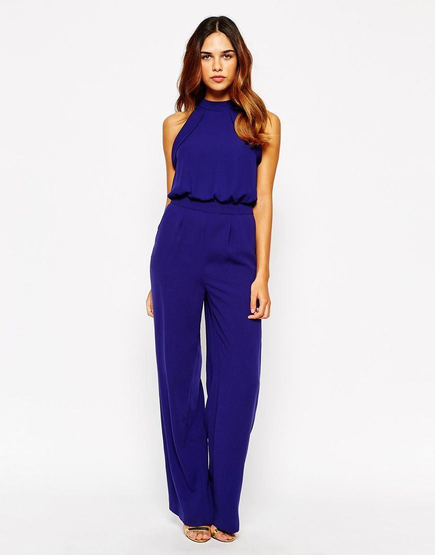 Image 1 of Warehouse High Neck Jumpsuit | Play & Jump suit ...