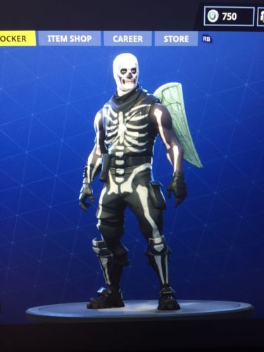 Fortnite Xbox One Account Skull Trooper Ghoul Trooper Read