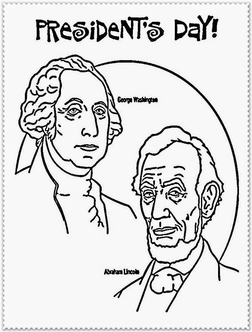 Presidents Day Coloring Page Presidents Day Coloring Pages ...