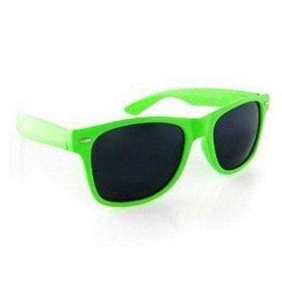 Green Adult Sunglasses