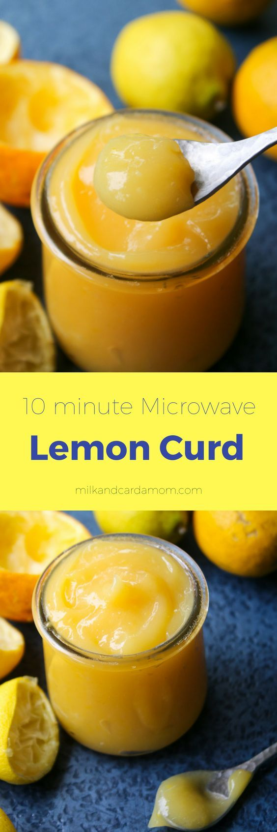 Quick 10 minute lemon curd recipe made in the microwave! Smooth tangy and delicious! | Milk and Cardamom #lemon #dessert #recipe #nobake