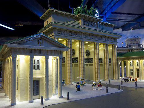 Lego Brandenburg Gate Brandenburg Gate Brandenburg Gate
