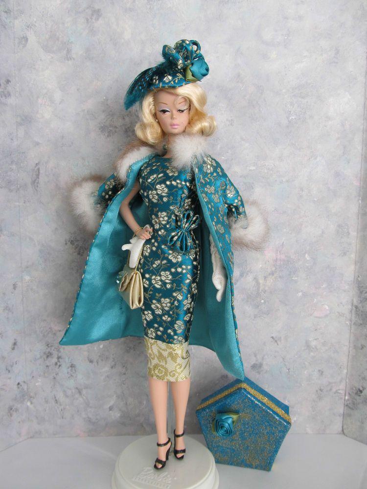 """OOAK Handmade Vintage Barbie/Silkstone """"On the Runway- Teal!"""" by Ann"""