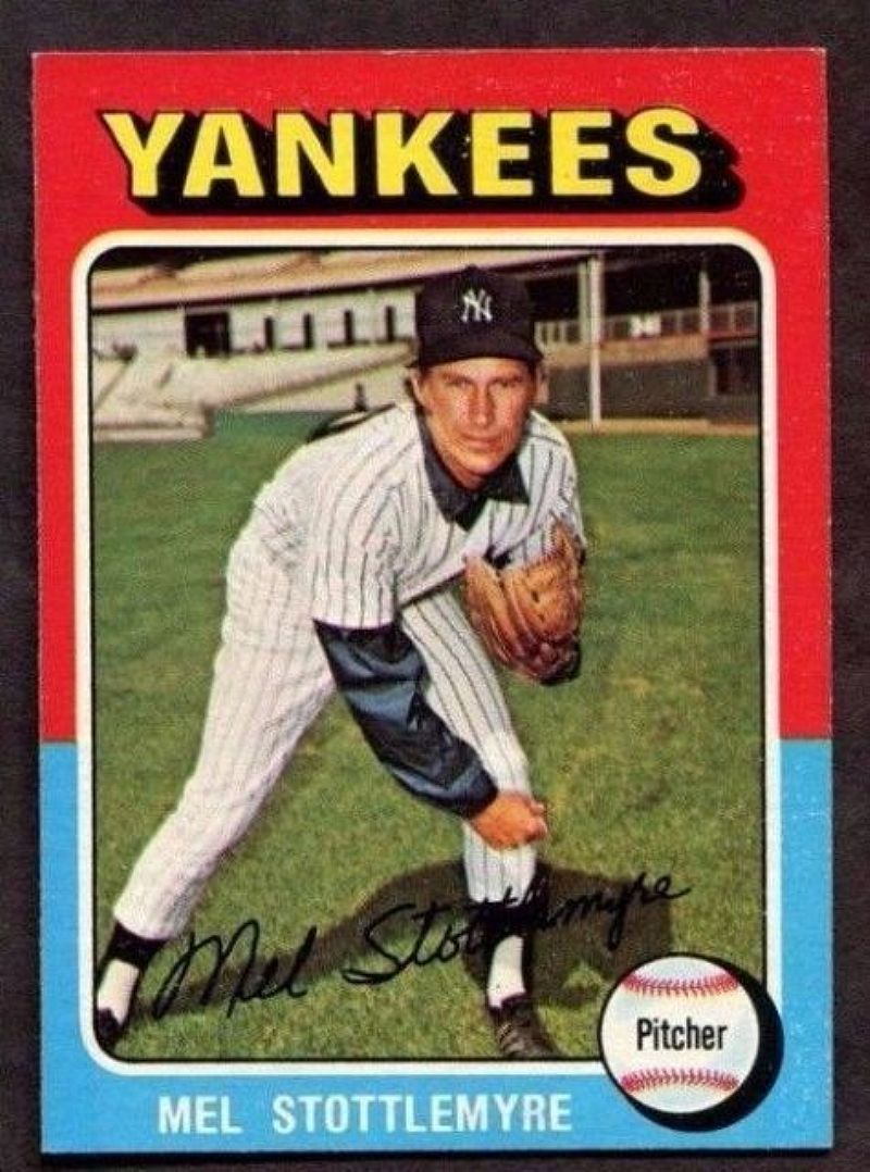 For sale at 1.25 VINTAGE 1975 Topps