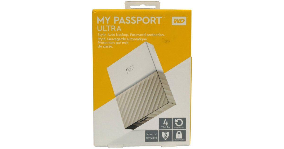 Wd My Passport Ultra 4tb Review Passport