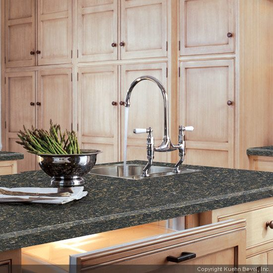 Light Wood, Dark Countertop   Good Combo. Basalt Slate Formica® Laminate  Counter Top