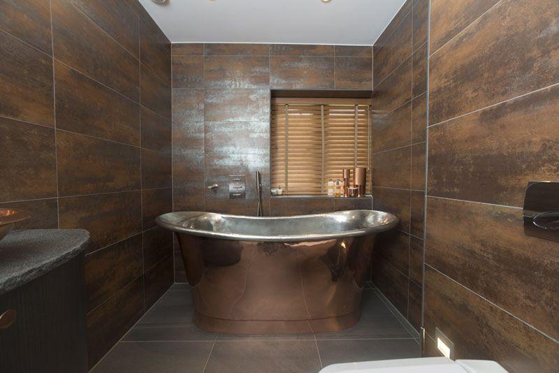 La baignoire en cuivre ou l'idée déco du moment à ne pas louper | Rénovation salle de bain ...