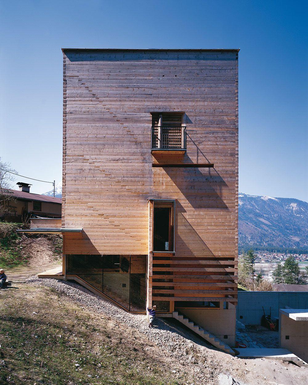 Exceptional M9 Architekten   L House, Brixlegg