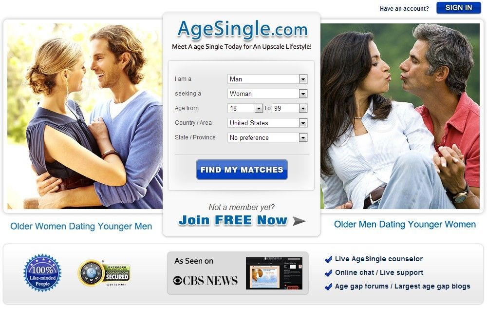 Age gap dating forum