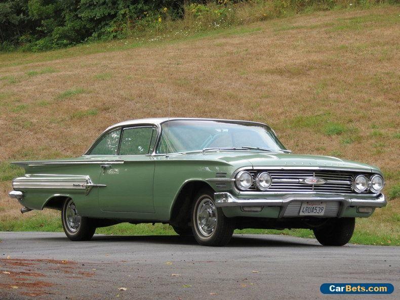 1960 Chevrolet Impala Chevrolet Impala Forsale Canada Chevrolet Impala Chevrolet Chevrolet Impala 1960