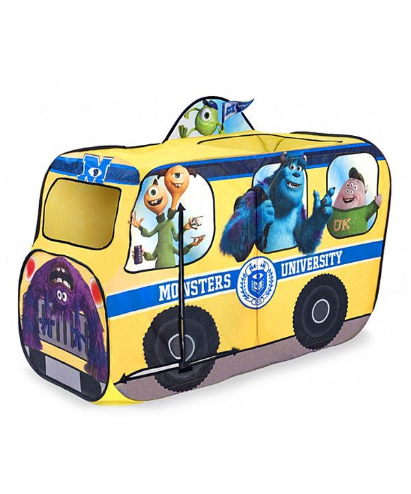 Take a look at this Monsters University School Bus Tent on zulily today!  sc 1 st  Pinterest & Take a look at this Monsters University School Bus Tent on zulily ...