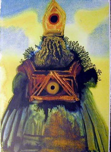 Arca Foederis 1967 By Salvador Dali Expressionism Symbolism