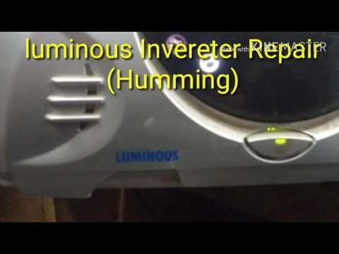 Luminous Inverter Repair All Common Fault Youtube Skills Development Luminous Repair