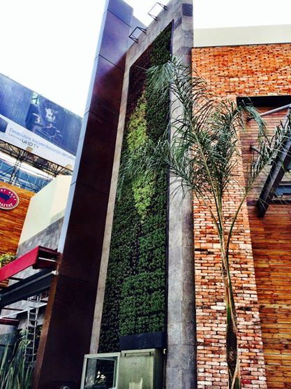 Una gran foto del Muro Verde de Rubaiyat Polanco, Hecho por AMBIARK