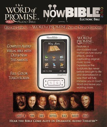 NowBible, The Word of Promise NKJV Now Bible, Audio Visual, MP3, PDA
