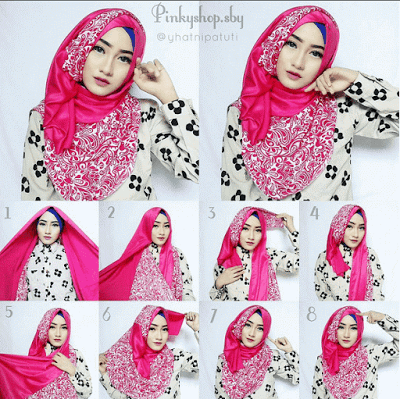 Tutorial Hijab Segi Empat Sederhana Untuk Remaja Hijab Gaya Hijab Tutorial Hijab Pashmina