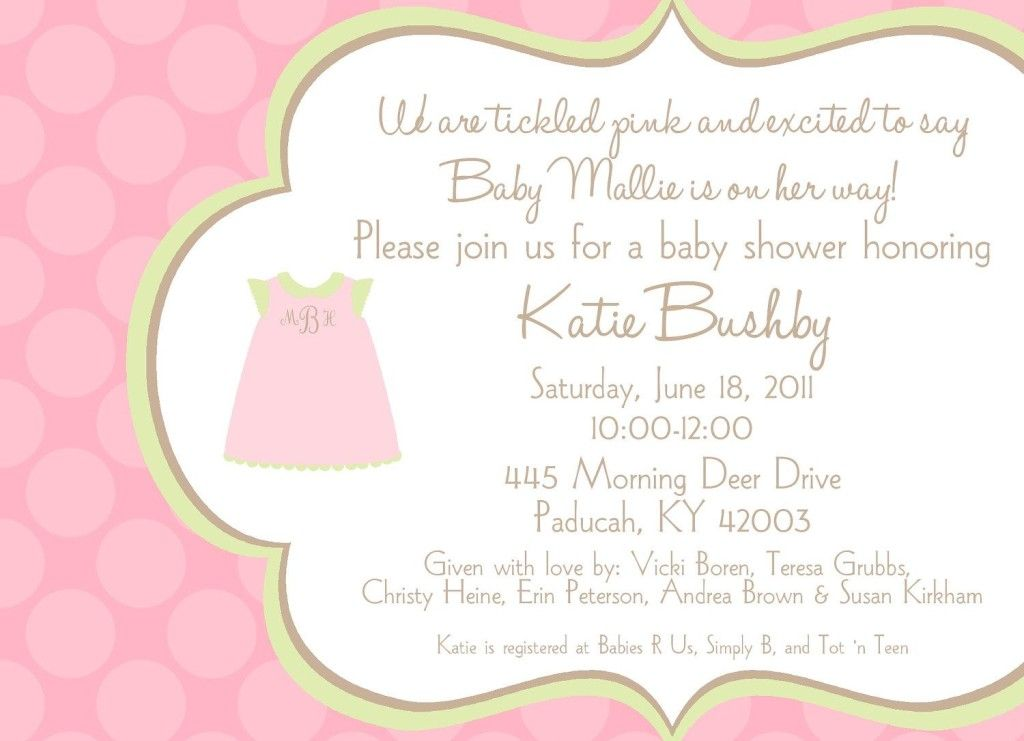 baby shower invitation ideas for wording baby shower invitation, Baby shower invitation