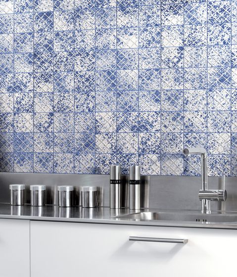 Ceramic flooring Mosaici d\u0027autore beside metallo Refin Check it