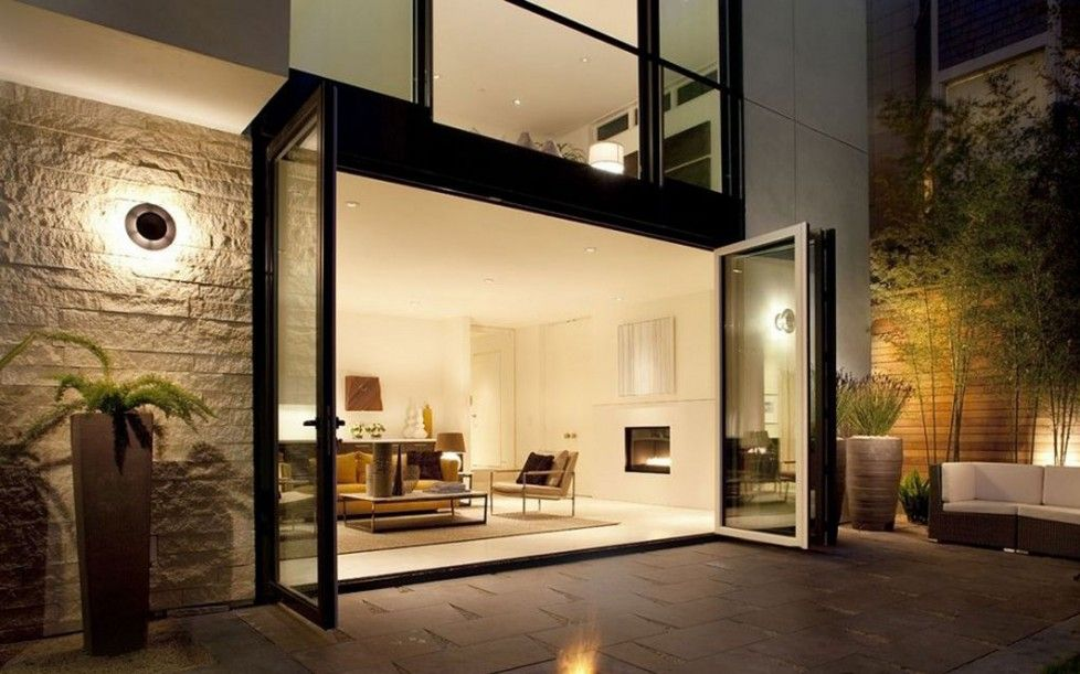 Download Unique Glass Wall Design Ideas Of Inspiring Wall Option ...