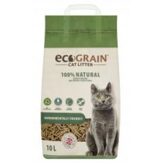 Ecograin Cat Litter 10 Litre On Onbuy