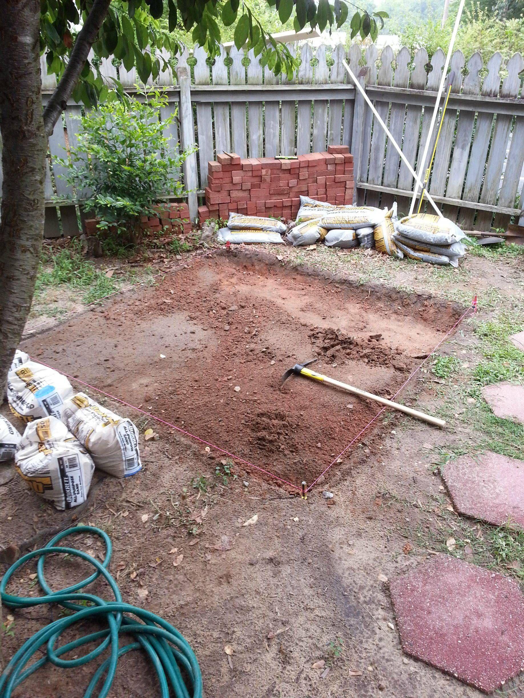 Diy Backyard Patio Patio Pictures Brick Patios Diy Backyard Patio