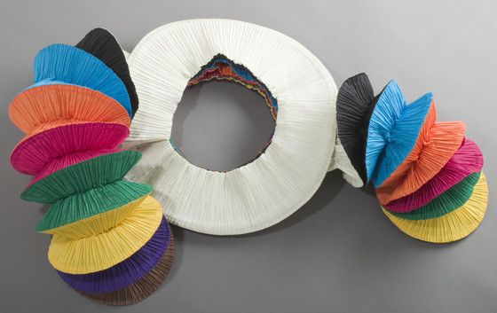 Woman's Dress, 'Flying Saucer'  Issey Miyake (Japan, born 1939)  Japan, spring/summer 1994
