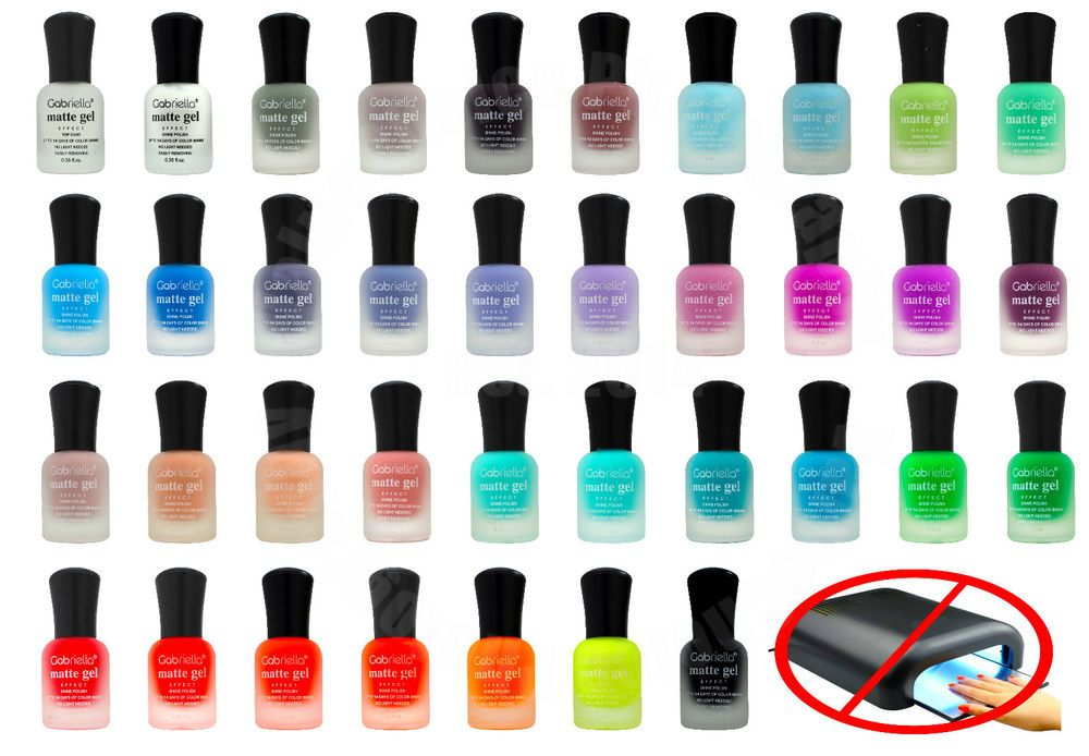 Matte Gel Nail Polish Long Lasting Quick Drying Diy Polish No Uv Light Needed Matte Gel Nails Matte Gel Gel Nail Polish