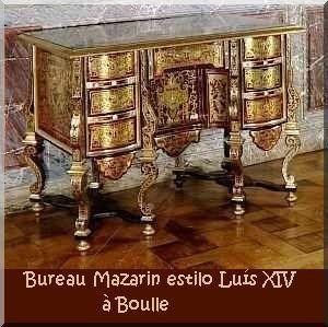 Bur a la mazarino estilo luis xiv francia esmadeco for Muebles estilo luis xiv
