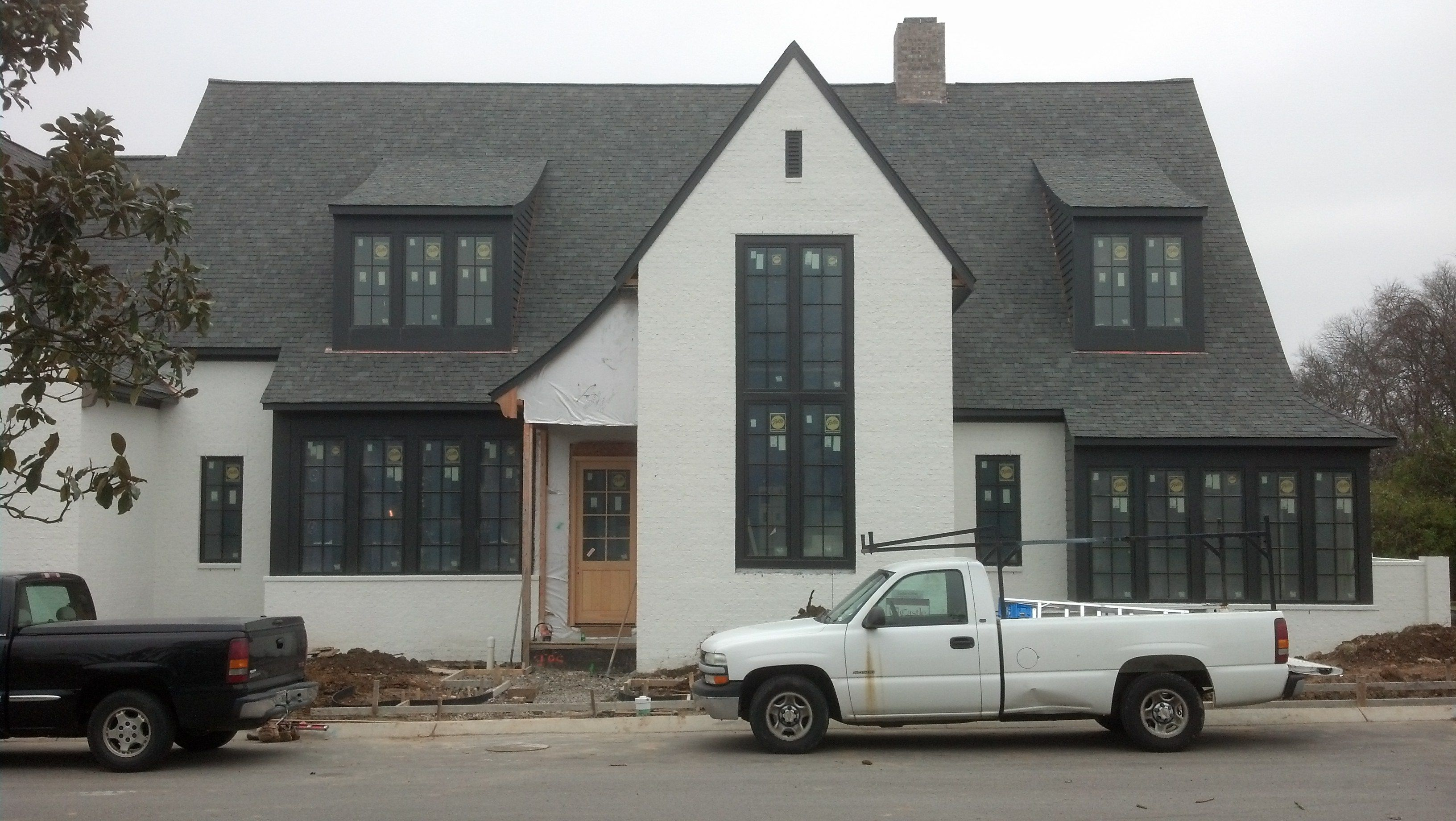 Arts and Crafts inspired residence under construction, Middleton, Nashville TN..... http://www.houzz.com/projects/829820/house-in-middleton-nashville-tennessee