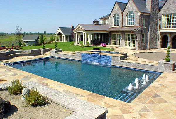 Very Small Inground Pools Custom Built Swimming Pools Spas Hot Tubs Commercial Construction
