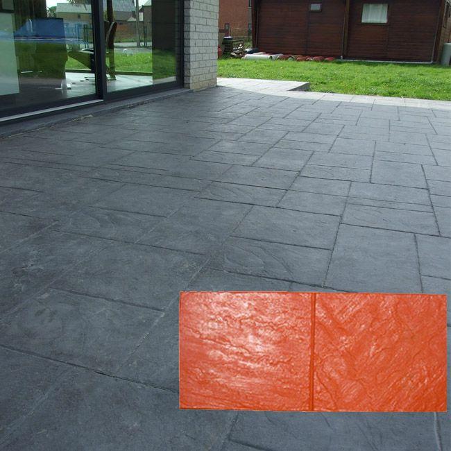 beton imprime gris anthracite terrasse - Recherche Google Béton - beton decoratif pour terrasse