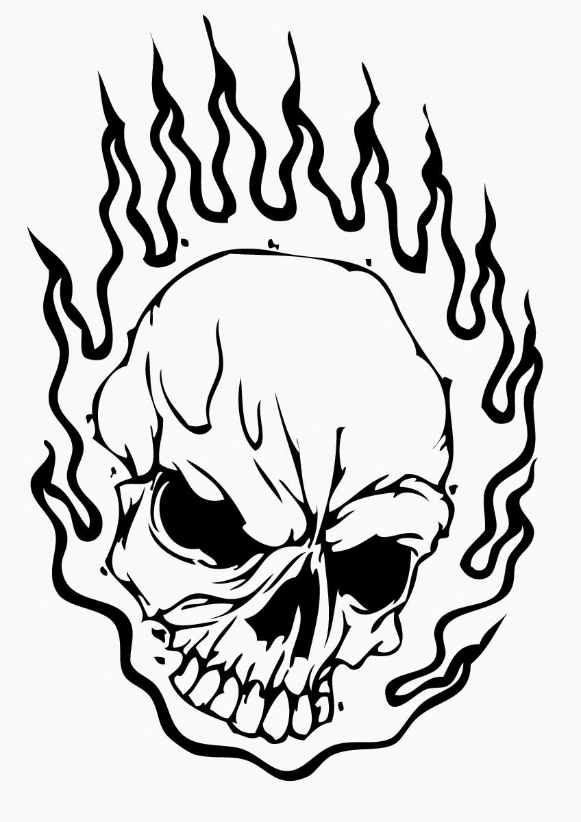 skull free printable coloring pages coloring.filminspector ...