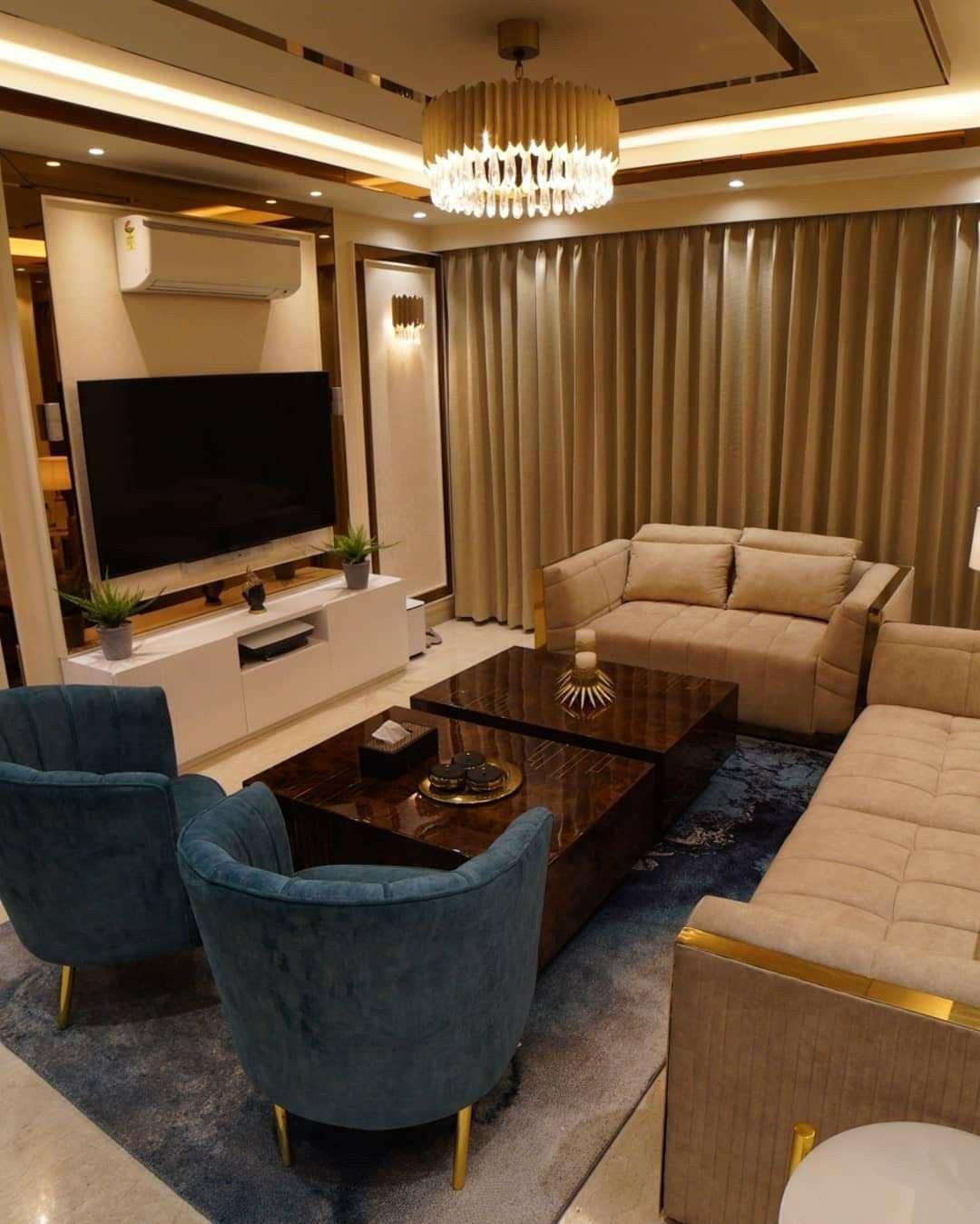 Residential Interior Design: Casual Living Area Design In 2020