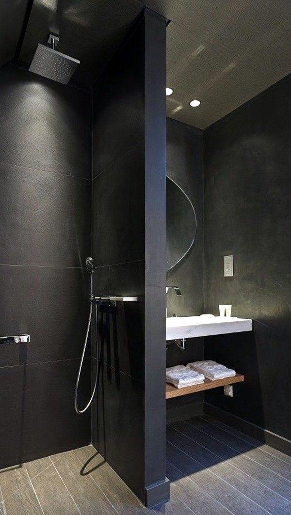 40 Clever Men Cave Bathroom Ideas Bathroom Design Black Modern Bathroom Design Bathroom Design