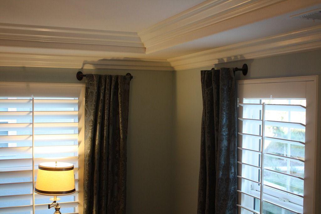 Towel Bar Curtain Rods Home Bedroom Drapery Rods Short