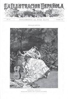 Flamenco de papel...: Cantadora andaluza