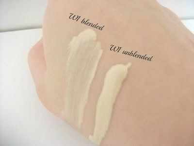 Review L Oreal True Match Foundation Swatch Of W1
