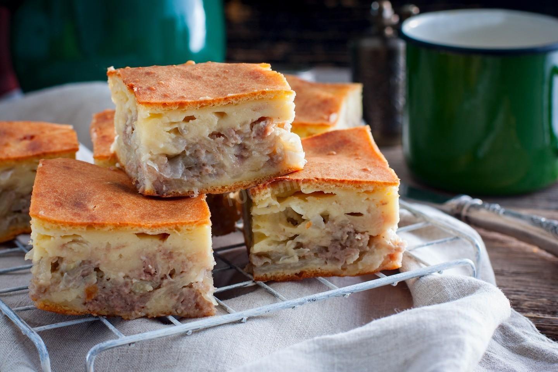 заливной мясной пирог рецепт с фото тому