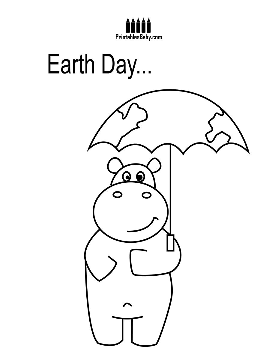 Hippo Rainy Day   Art cards, Free printables and Survival