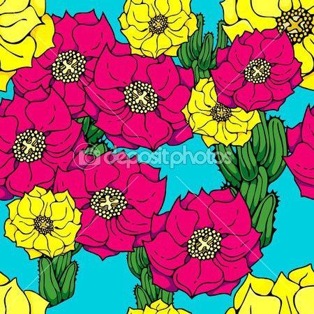 dibujos de cactus a color - Buscar con Google