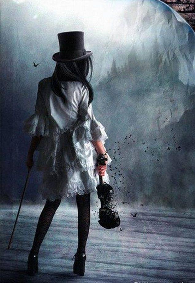 Silence | Art, Dark fantasy, Fantasy girl