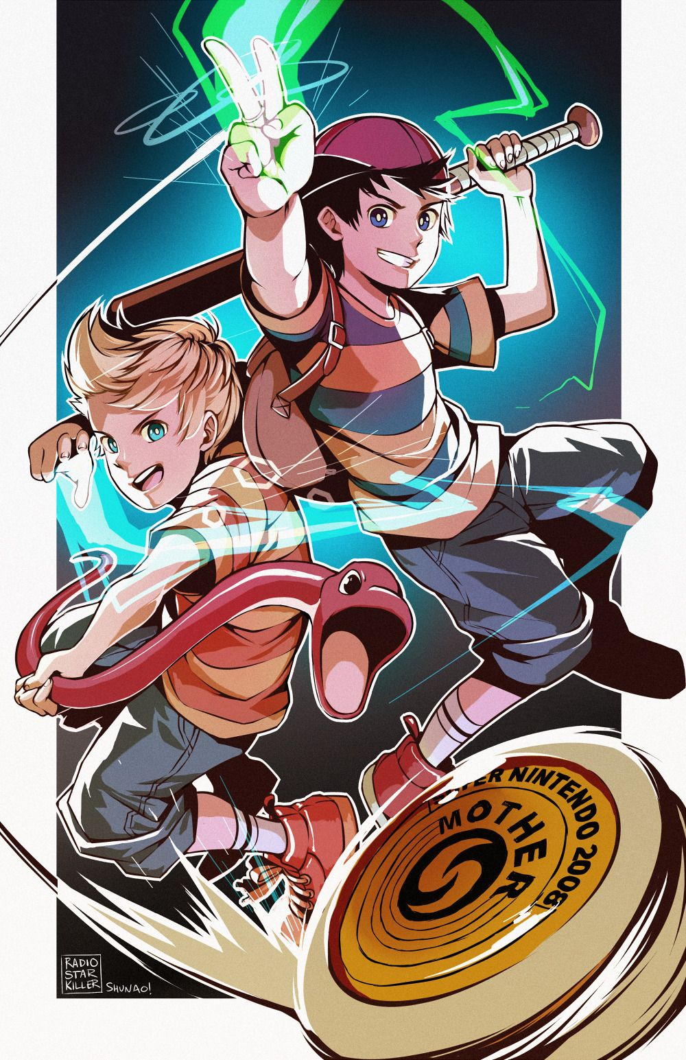 A collab that shunao and I did! <: | Earthbound Stuff