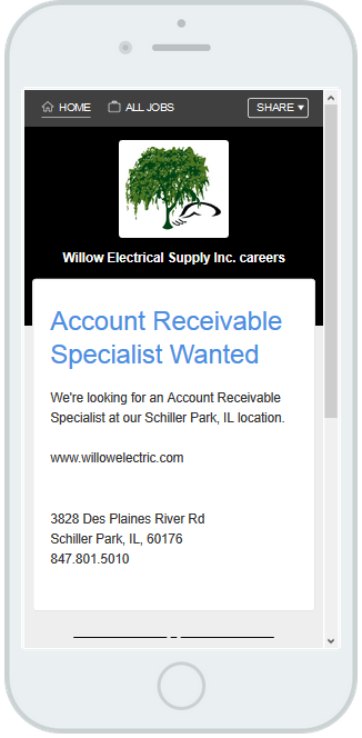 looking for an experienced collections specialist now willowelectric