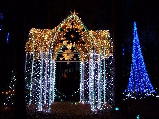 a73ce396d8f1c050560e1f471b866317 - Garvan Gardens Hot Springs Christmas Lights