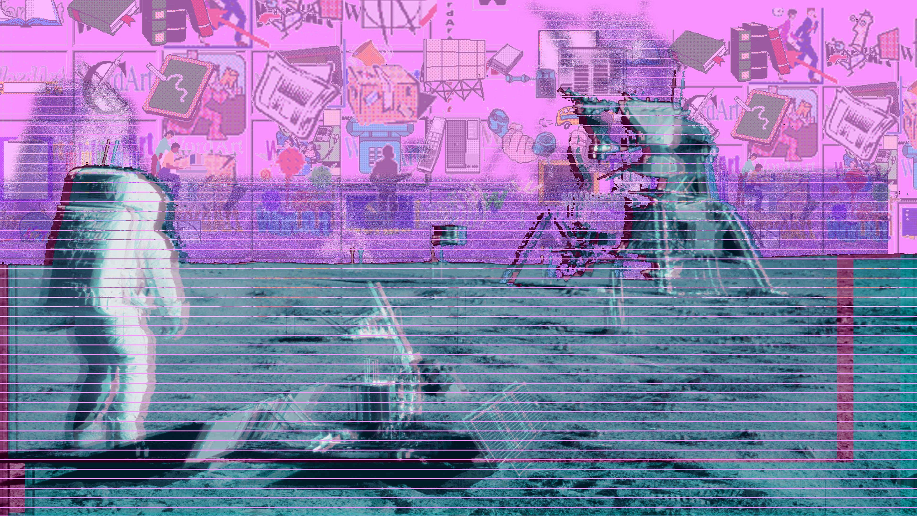 Vaporwave Wallpaper 2560x1600 ID57023 Papel de
