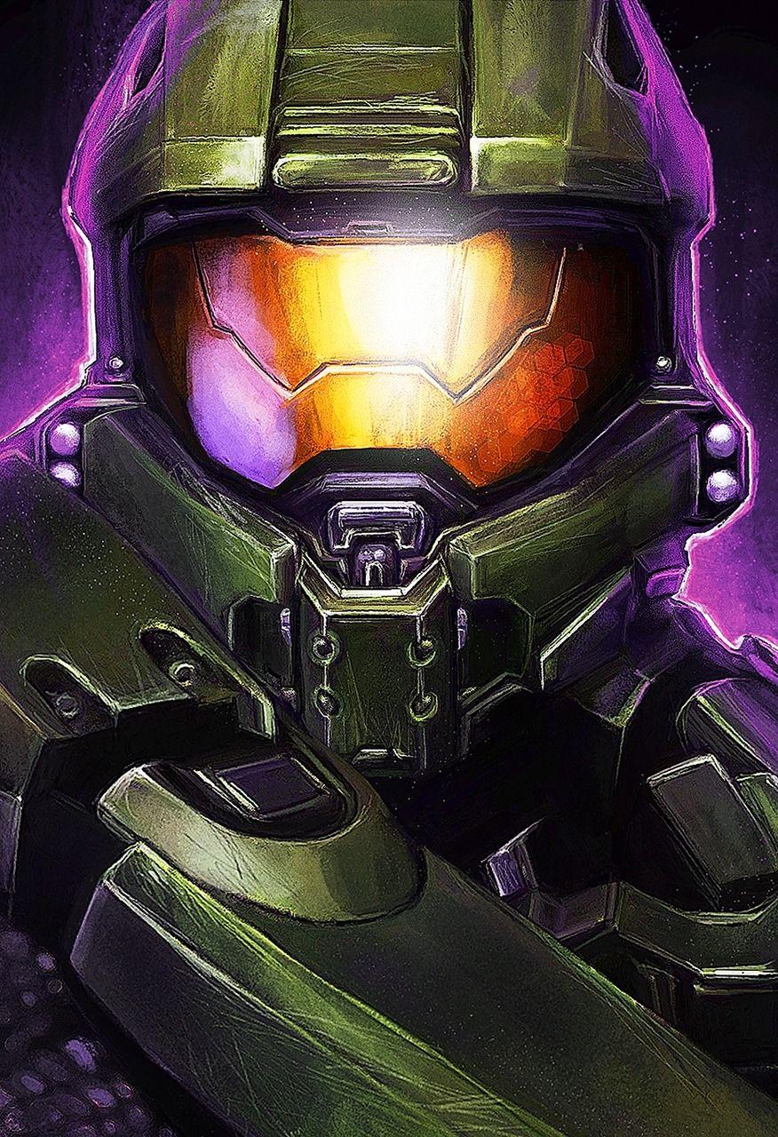 Halo 5 Master Chief Helmet : master, chief, helmet, Master, Chief, Aslarona, Video, Game,