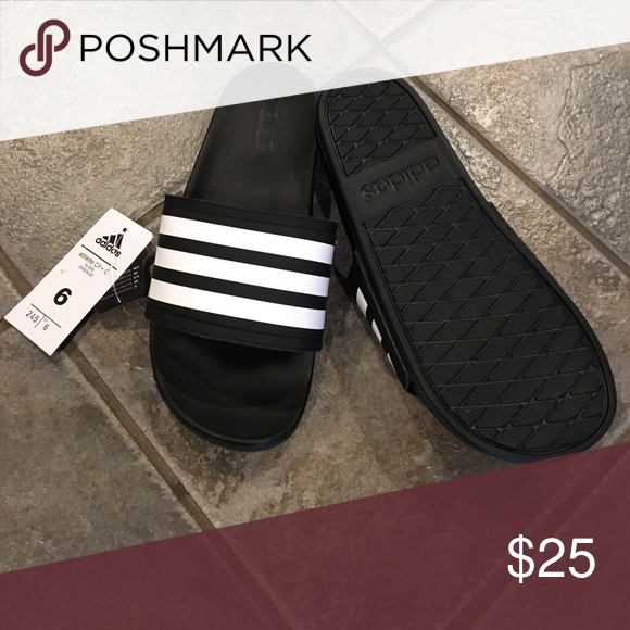 Adidas adilette slides size men 6   7 1 2-8 women Adidas adulterer CF+ C slides  sandals size men s 6. Women s size 7 1 2-8. Brand new with tags and box. 1c199e56e