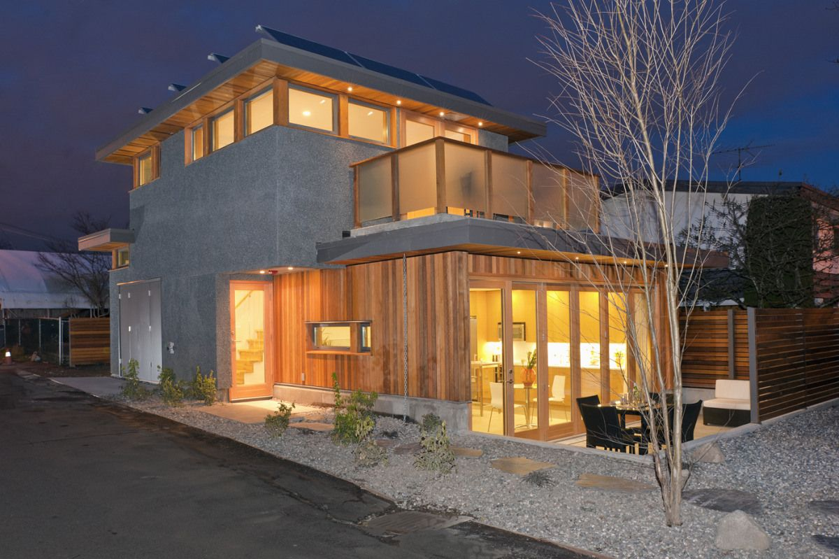 Laneway house by LaneFab Design/Build. 753 ft2 | Tiny houses ...