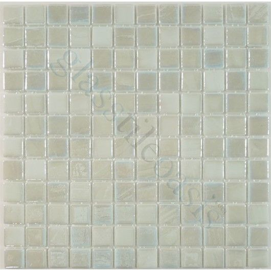Snowy White 1 X 1 Glossy Iridescent Glass Tile Iridescent Glass Tiles Iridescent Glass Iridescent Tile